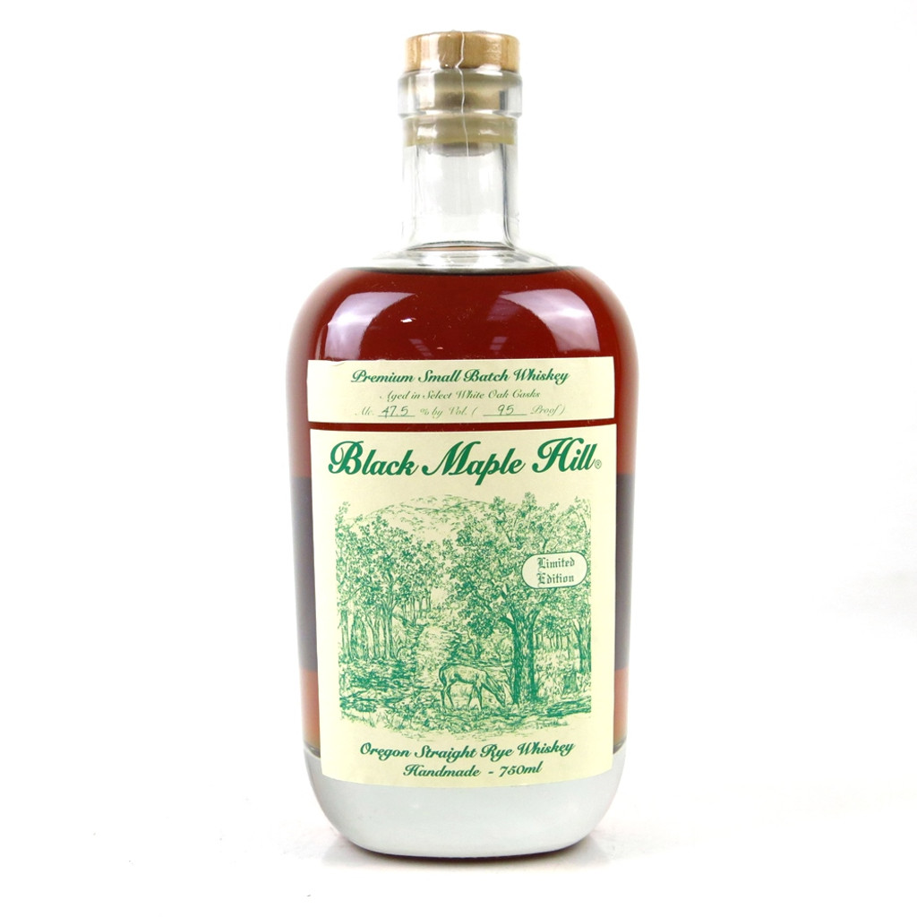 Black Maple Hill Straight Oregon Rye Whiskey