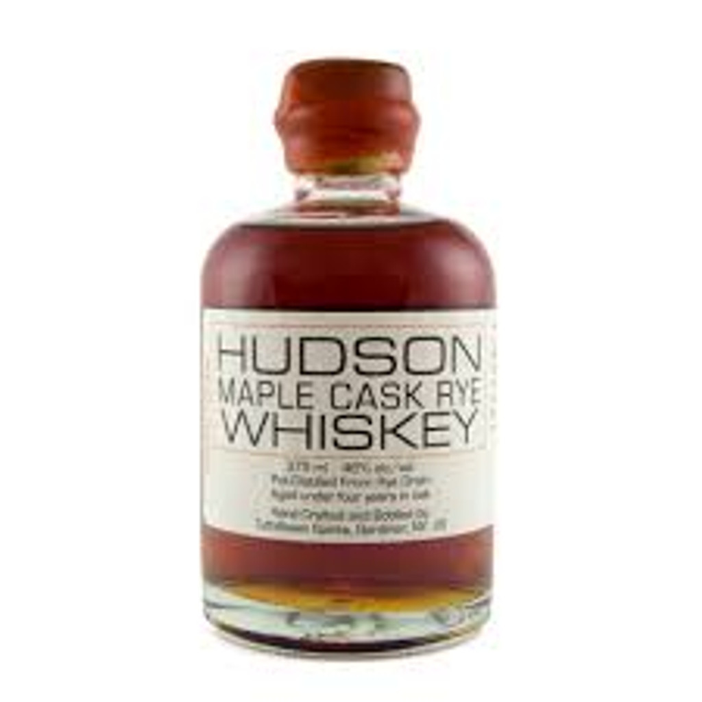 Hudson Whiskey Maple Cask Rye Whiskey 750mL
