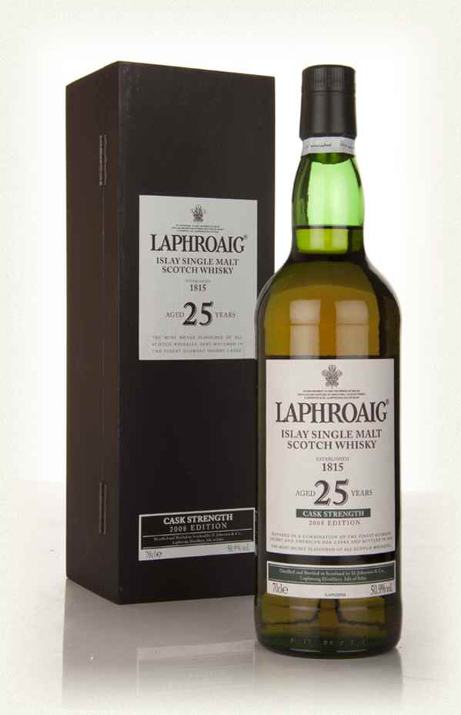 Laphroaig, 25 Years Old Cask Strength Scotch Whisky