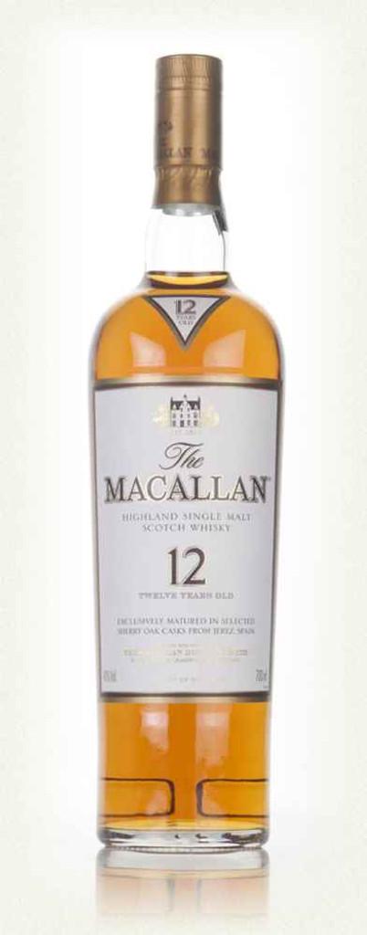 The Macallan 12 Year Old Sherry Oak Single Malt Scotch