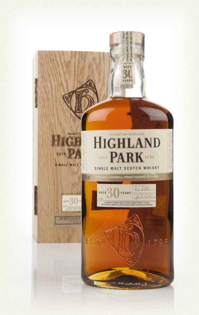 Highland Park 30 year Single Malt Scotch Whisky