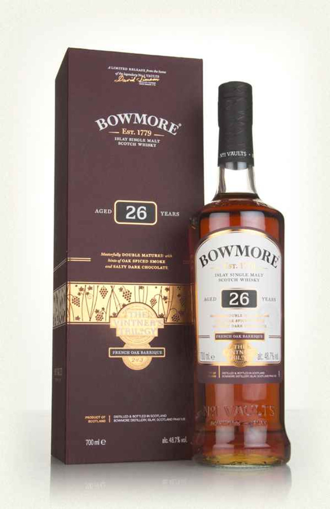 Bowmore 26 Years Old The Vintner's Trilogy Single Malt Scotch Whisky