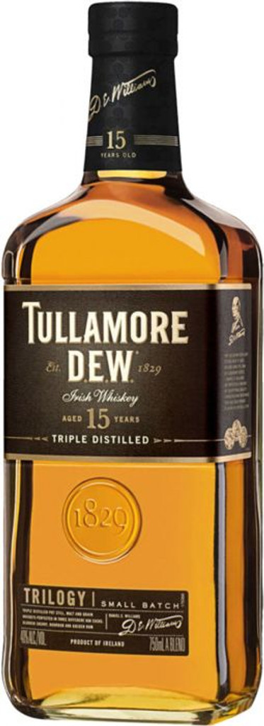 Tullamore DEW 15 Year Old Trilogy Small Batch Irish Whiskey