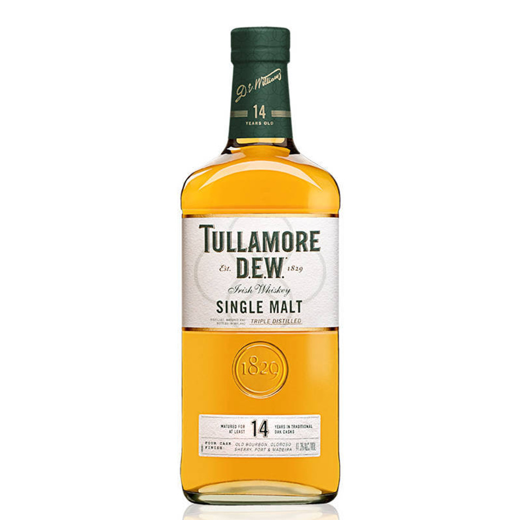 Tullamore DEW 14 Year Old Single Malt Irish Whiskey