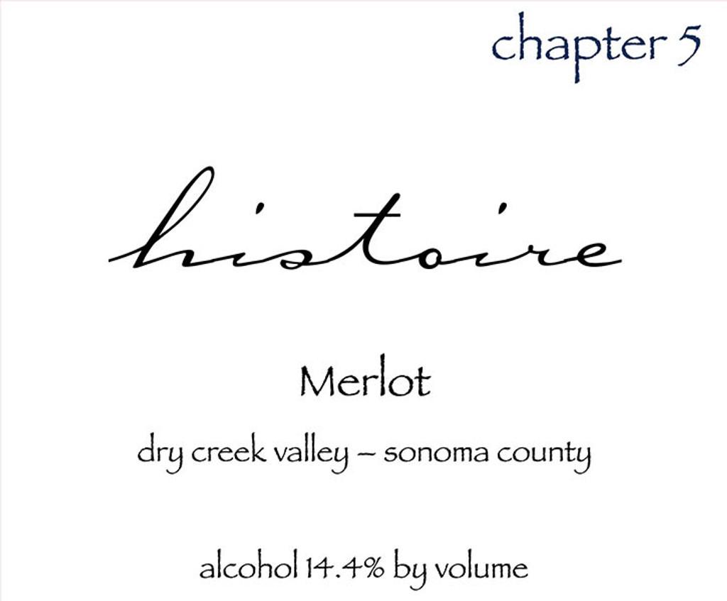 "Forth Histoire Merlot ""Chapter 5"" 2015"