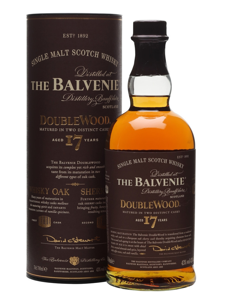 The Balvenie 17 Years Old DoubleWood Single Malt Scotch Whisky