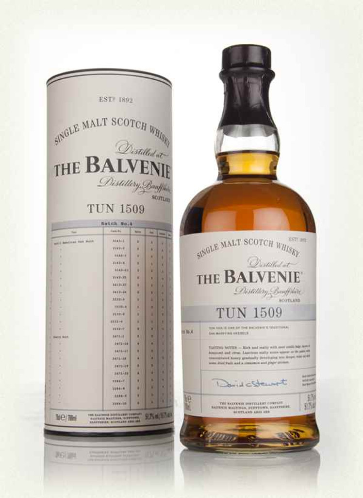 The Balvenie Single Malt Scotch Whisky Tun 1509 Batch 6