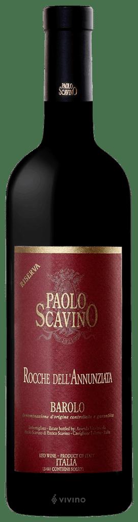 Paolo Scavino Barolo Riserva 'Rocche Dell'annunziata' 2013