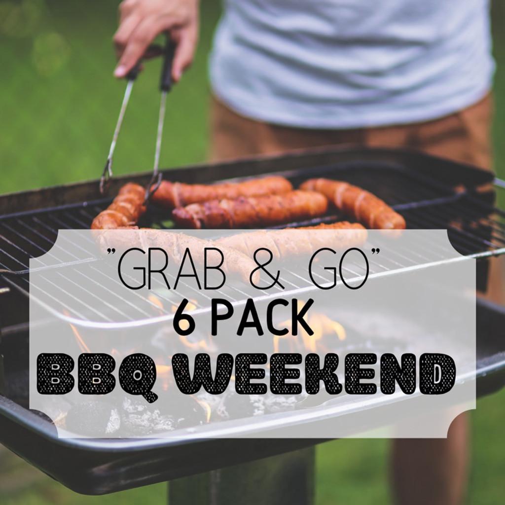 """""""Grab & Go"""" 6 Pack: BBQ Weekend"""