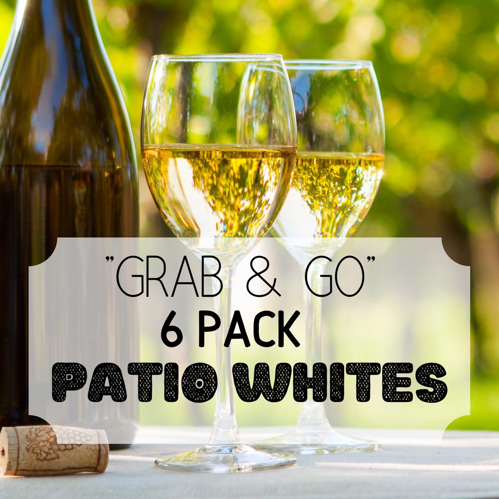 """Grab & Go"" 6 Pack: Patio Whites"
