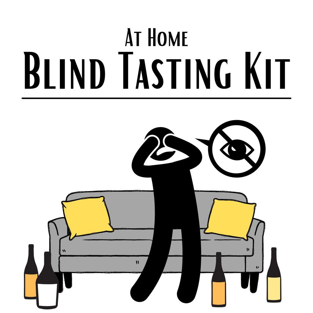 At Home Blind Tasting Kit (3 PACK): Whites Only - Premium  Level