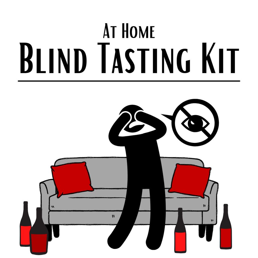At Home Blind Tasting Kit (6 PACK): Reds Only - Entry Level