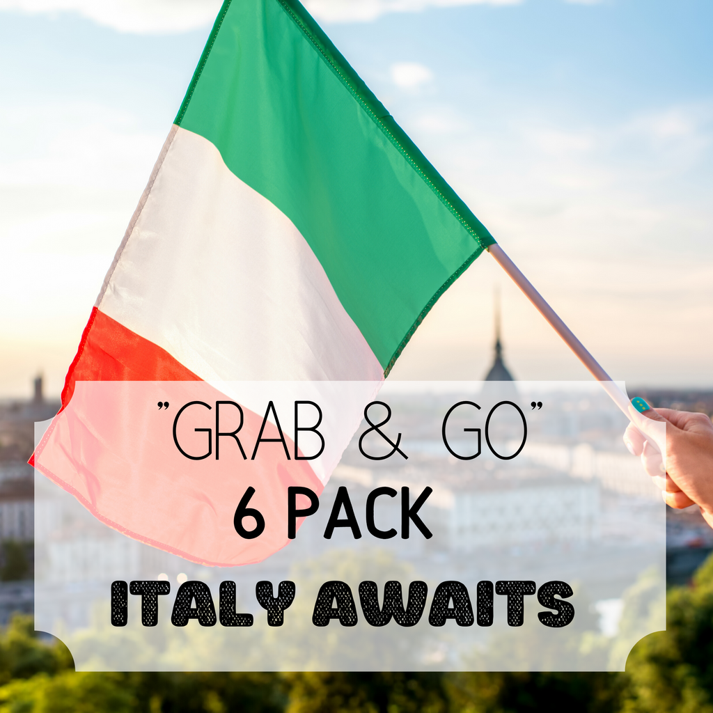 """""""Grab & Go"""" 6 Pack: Italy Awaits"""