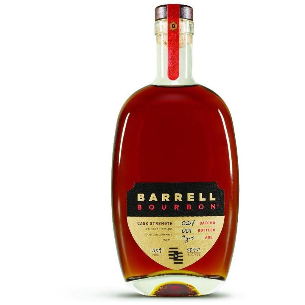 Barrell Craft Spirits 9 year Bourbon Cask Strength Batch 24