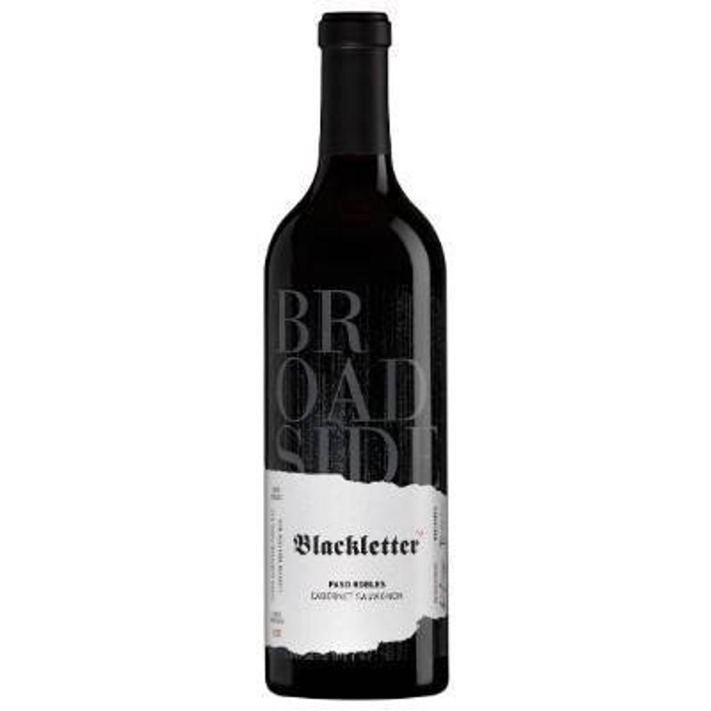 Broadside Blackletter Cabernet Sauvignon 2017