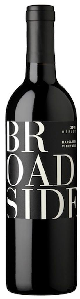 Broadside Merlot Margarita Vineyard 2018