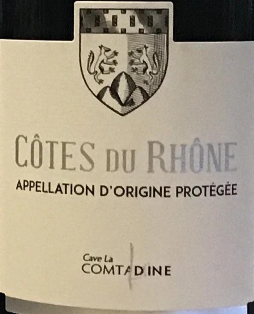 Cave La Comtadine Cotes du Rhone Rose 2020