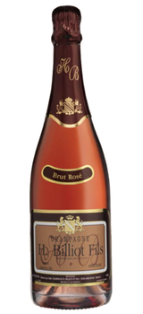 H Billiot Rose Brut NV Champagne