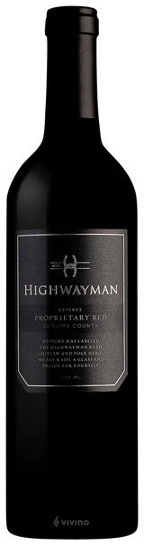 Highwayman Proprietary Red Blend 2016