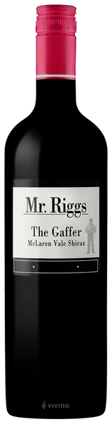 Mr Riggs The Gaffer Shiraz 2013
