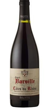 Brotte Cotes du Rhône Esprit Barville Rouge 2017
