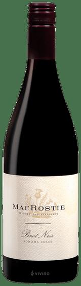MacRostie Pinot Noir 2018