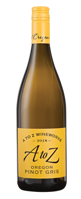 A to Z Pinot Gris 2018