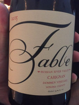 Fable Wines Dommen Vineyard Carignan Russian River Valley 2015