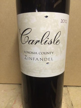"Carlisle Sonoma Valley ""Pagani Ranch"" Zinfandel 2017"