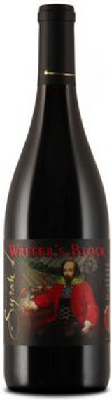 Writer's Block Syrah 2015