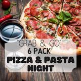 """Grab & Go"" 6 Pack: Pizza & Pasta Night"