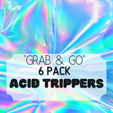 """Grab & Go"" 6 Pack: Acid Trippers"