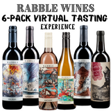 Rabble Wines 6-Pack Virtual Tasting Experience