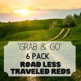 """Grab & Go"" 6 Pack: Road Less Traveled Reds"