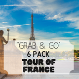 """Grab & Go"" 6 Pack: Tour of France"