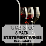 """Grab & Go"" 6 Pack: Statement Whites & Reds"