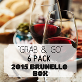 """Grab & Go"" 6 Pack: Brunello Box"