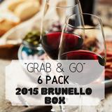 """Grab & Go"" 6 Pack: Brunello Box"