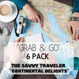The Savvy Traveler 'Continental Delights'