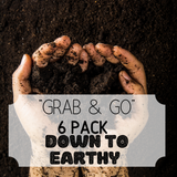 """Grab & Go"" 6 Pack: Down to EARTHY"