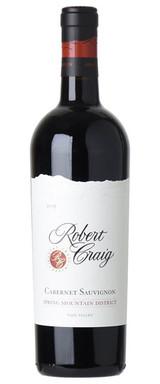 Robert Craig Cellars Spring Mountain Cabernet Sauvignon 2016