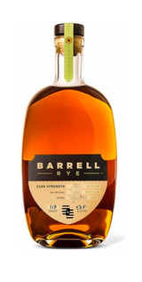 Barrell Craft Spirits 4 Year Indiana Rye 119.46 Proof