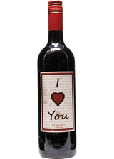 I LOVE YOU RED TABLE WINE