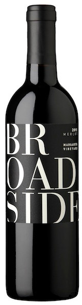 Broadside Merlot Margarita Vineyard 2018