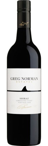 Greg Norman Estates Limestone Coast Shiraz 2018