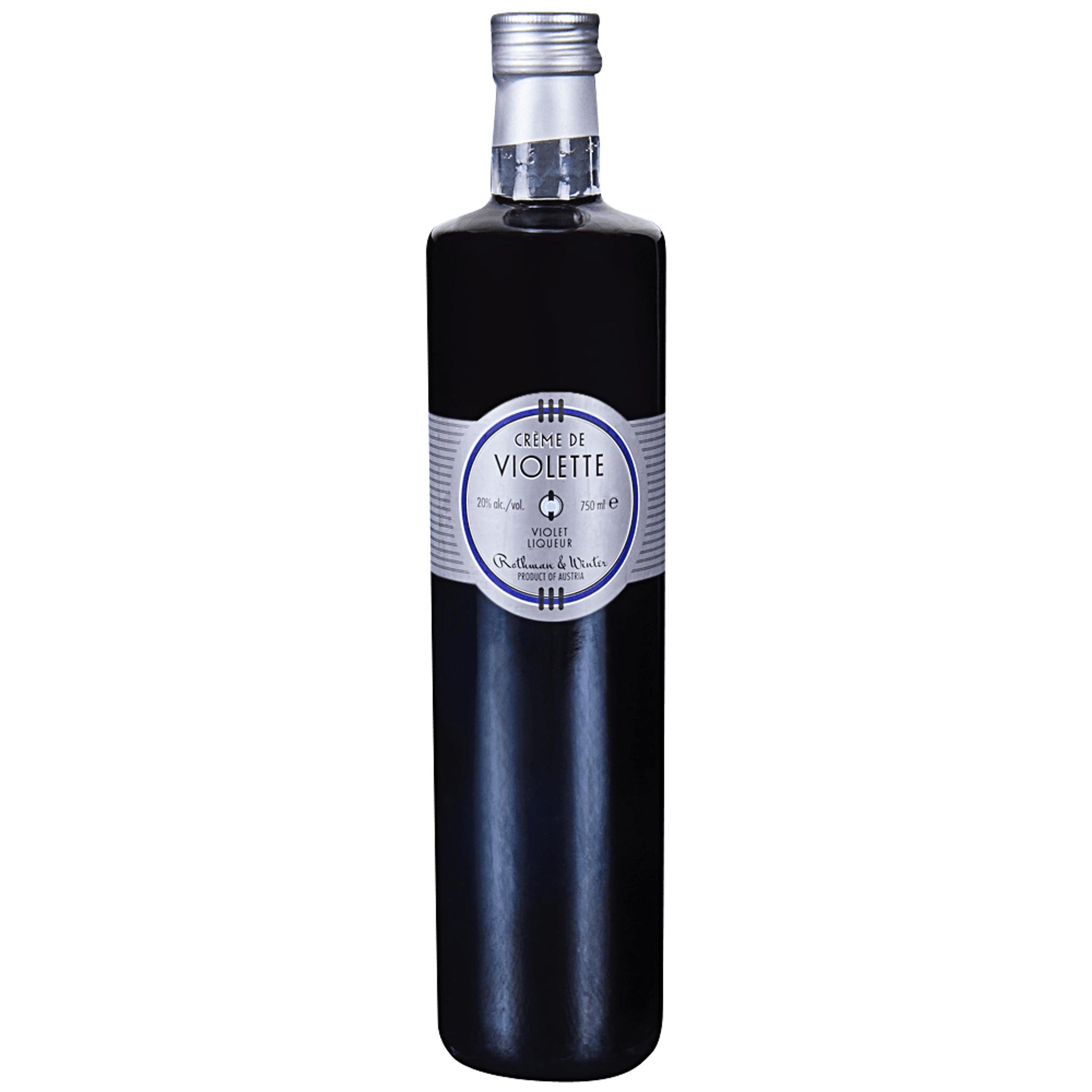 Cuisine Blanc Gris Violet rothman & winter creme de violette liqueur