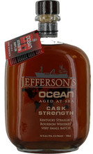 Jefferson's, Kentucky Straight Bourbon Whiskey Ocean Aged at Sea Cask Strength 112 Proof