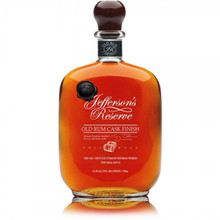 Jefferson's, Reserve Old Rum Cask Finish Straight Bourbon Whiskey 90.2 Proof