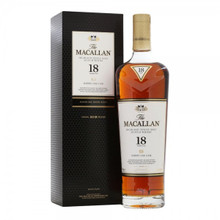 The Macallan 18 Year Old Sherry Oak Single Malt Scotch