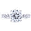 The Alexa Series Ring - Eternal Moissanite 2CT Round Brilliant Cut Eternity Style Engagement Ring - VIDEO BELOW